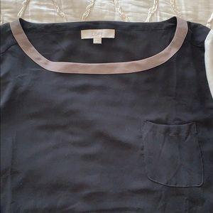 LOFT Tops - Color blocking blouse